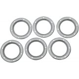 """STAINLESS DISC 4"""" 12 PACK"""